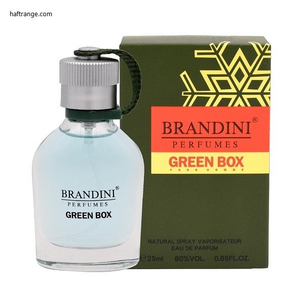 عطر مردانه جیبی Green Box