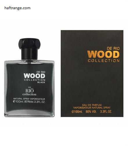 عطر و ادکلن مردانه ریو کالکشن وود بلک Rio Collection Wood Black for men