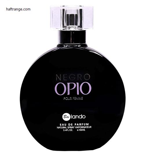 ادو پرفیوم زنانه بایلندو مدل Negro Opio حجم ۱۰۰ میلی لیتر