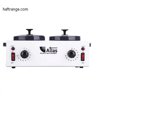 دستگاه موم داغ کن دو قابلمه اطلس