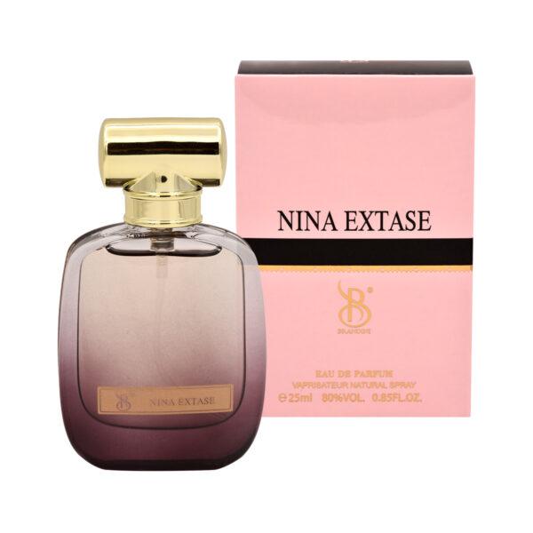خرید ارزان عطر جیبی برندینی نینا اکستاس زنانه ATR Nina Extase